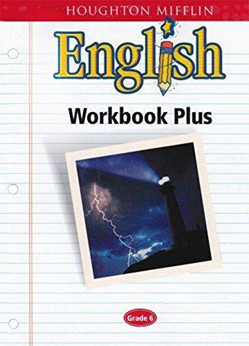 9780618090655: Houghton Mifflin English: Workbook Plus Grade 6