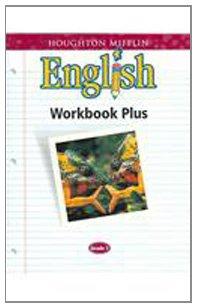 9780618090662: Houghton Mifflin English: Workbook Plus Consumable Grade 7