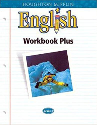 9780618090679: Houghton Mifflin English: Workbook Plus Consumable Grade 8