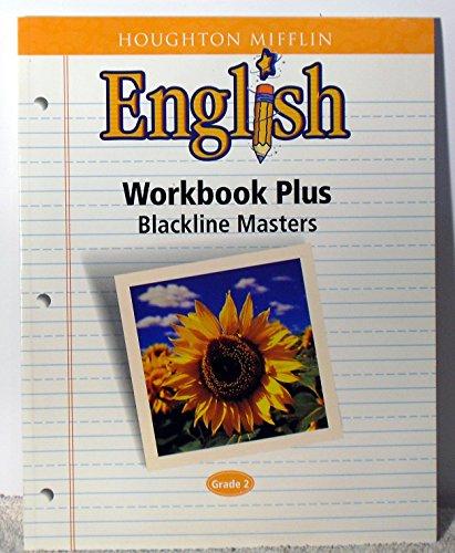 9780618090693: Houghton Mifflin English Workbook Plus, Blackline Masters, Grade 2
