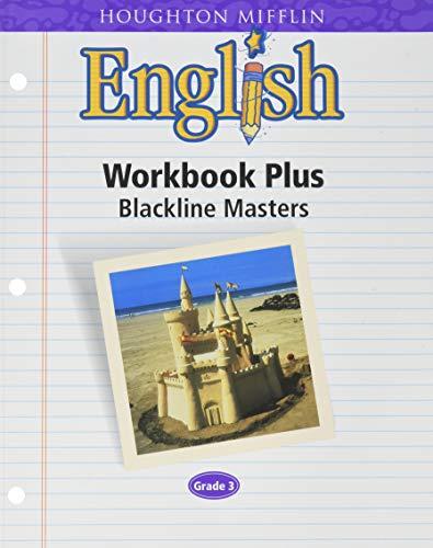 9780618090709: Houghton Mifflin English: Workbook Plus Blackline Masters, Grade 3