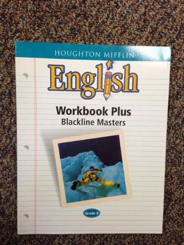 Houghton Mifflin English Workbook Plus Backline masters, Grade 8 ISBN 0618090754 9780618090754
