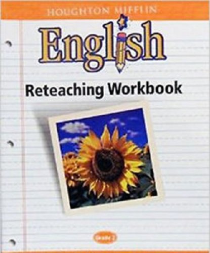 9780618090778: Houghton Mifflin English: Reteaching Workbook Grade 2