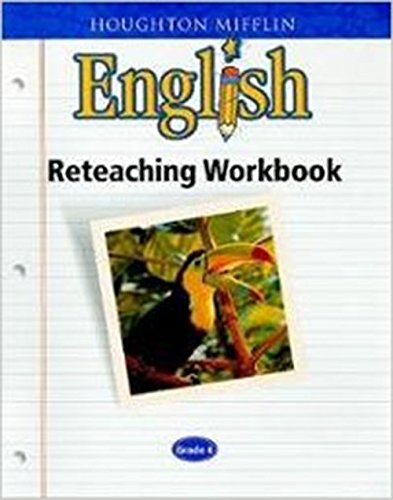 9780618090785: Houghton Mifflin English: Reteach Workbook Consumable Level 3