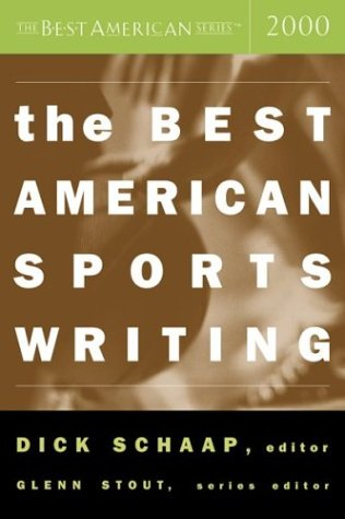 9780618093946: The Best American Sports Writing 2000
