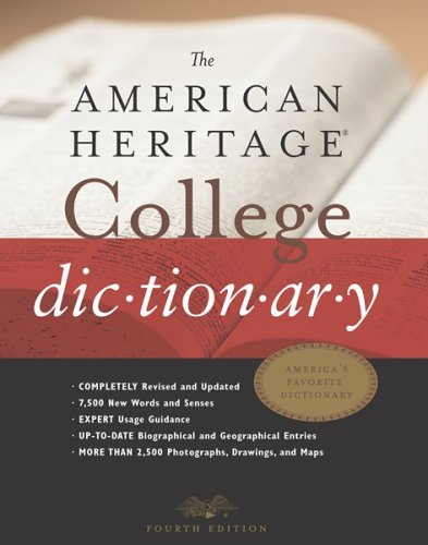 9780618098484: The American Heritage® College Dictionary, Fourth Edition