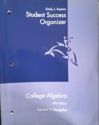 9780618098514: College Algebra Student Success Organizer, Fifth Edition