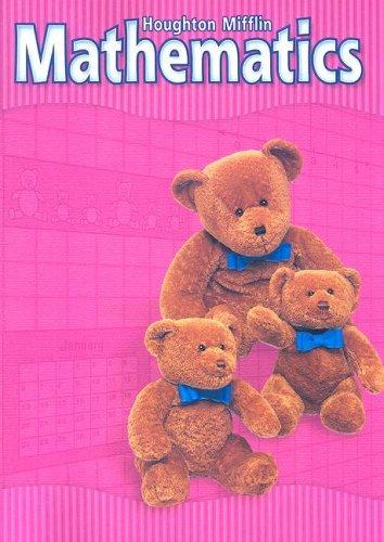 9780618099245: Houghton Mifflin Mathematics: Level K, Student Edition