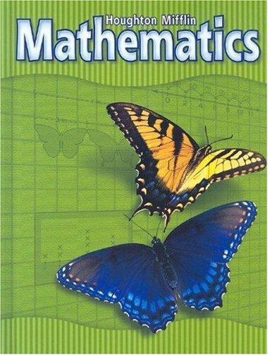 9780618099771: Houghton Mifflin Mathematics: Level 3, Student Edition