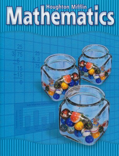 9780618099788: Houghton Mifflin Mathmatics: Student Edition National Level 4 2002