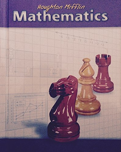 9780618099795: Houghton Mifflin Mathematics: Level 5, Student Edition (Houghton Mifflin Mathmatics)