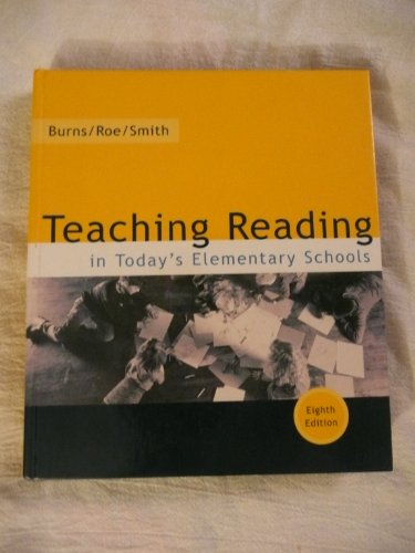 9780618102181: Teaching Reading in Todays Elementary School
