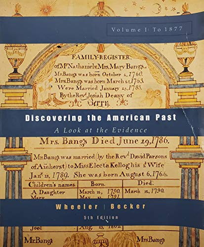 9780618102242: Discovering American Past V1
