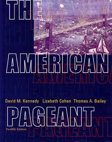 9780618103492: The American Pageant: A History of the Republic, 12th Edition