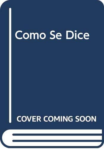 9780618103812: Como Se Dice Audio Cd-rom Program, Seventh Edition