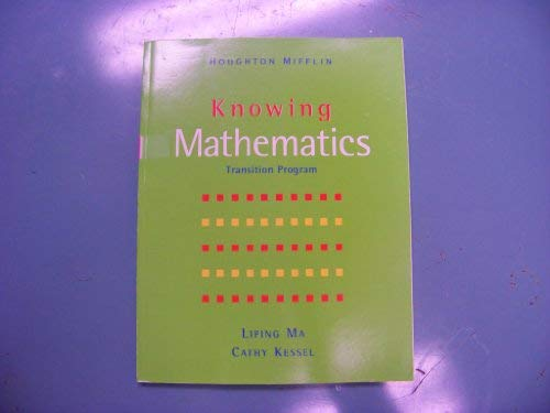 9780618105298: Knowing Mathematics: Level 6