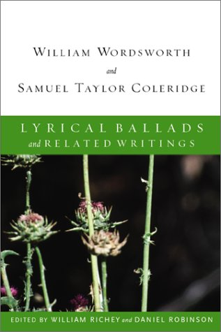 Lyrical Ballads and Related Writings: Daniel Robinson; William