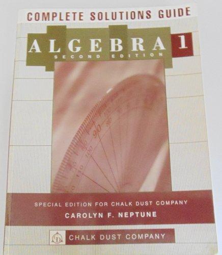 9780618107773: Elementary Algebra Solutions, Second Edition, Custom Publication