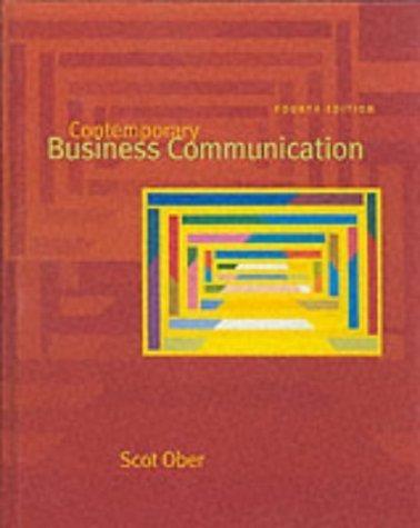 9780618107995: Contemporary Business Communication