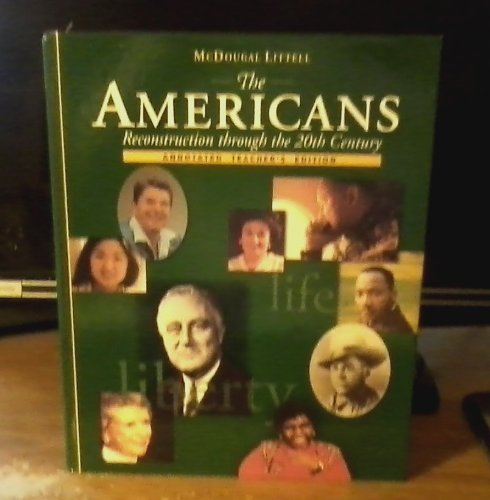 Annotated Teacher S Edition Mcdougal Littell Americans (0618108165) by Danzer