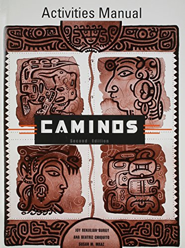 9780618112432: Caminos Activities Manual (Second Edition)