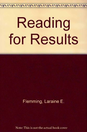 9780618113262: Reading For Results Eighth Edition