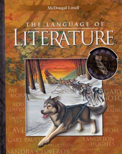 9780618115716: McDougal Littell Language of Literature California: Student Edition Grade 6 2002