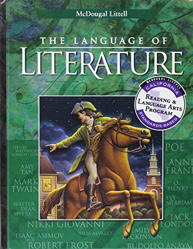 9780618115730: McDougal Littell Language of Literature California: Student Edition Grade 8 2002