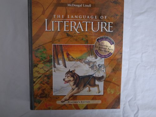 McDougal Littell Language of Literature, CALIFORNIA Edition, Grade 6: McDougal Littell