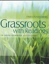 Student Answer Key to The Writer's Workbook: Grassroots With Readings, 7th Edition: Fawcett, ...