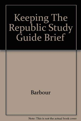 9780618116270: Study Guide: Used with ...Barbour-Keeping the Republic: Power and Citizenship...
