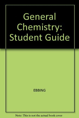 9780618118403: General Chemistry Study Guide, 7th Edition