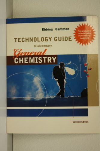 9780618118472: Technology Guide to Accompany General Chemistry