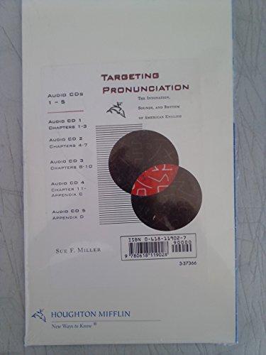 9780618119028: Targeting Pronunciation Audio CD-ROM