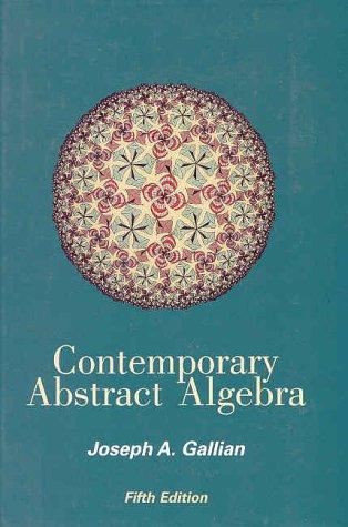 9780618122141: Contemporary Abstract Algebra