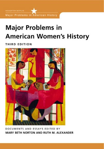 9780618122196: Major Problems in American Women's History: Documents and Essays (Major Problems in American History Series)