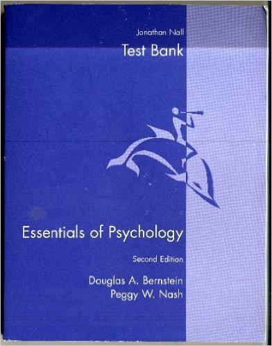 9780618123001: Essentials of Psychology Includes Test Bank