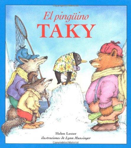 9780618125319: El Pinguino Taky (Tacky the Penguin)