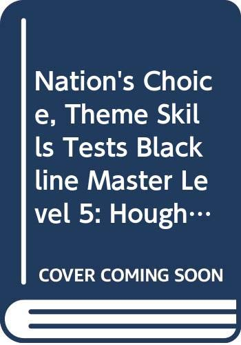 9780618126569: Houghton Mifflin Reading: The Nation's Choice: Theme Skills Test Blackline Master Grade 5