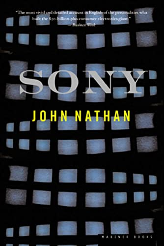 Sony (Paperback or Softback) 9780618126941 Named one of the best business books of the year (by Fortune and Newsweek), SONY is the  intimate biography of one of the world's leadin