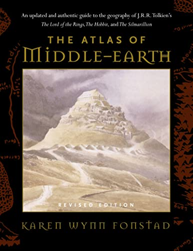 9780618126996: The Atlas of Middle Earth
