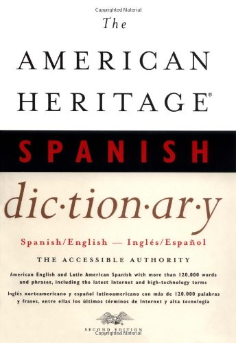 9780618127702: The American Heritage Spanish Dictionary, Second Edition
