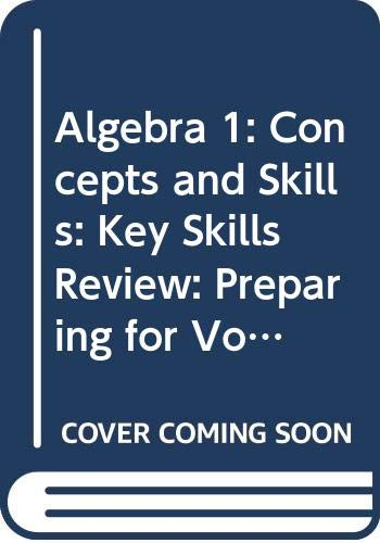 McDougal Littell Algebra 1 Concepts and Skills Key Skills Review: McDougal Littell
