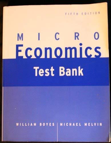 9780618128006: Microeconomics Test bank