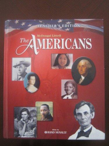 The Americans Teacher's Edition (Teacher's Edition): and Wilson Danzer Klor de Alva ...
