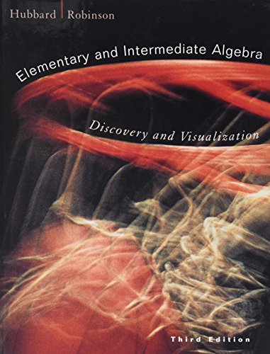 9780618129911: Elementary and Intermediate Algebra: Discovery and Visualization