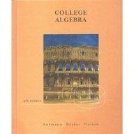 9780618130740: College Algebra