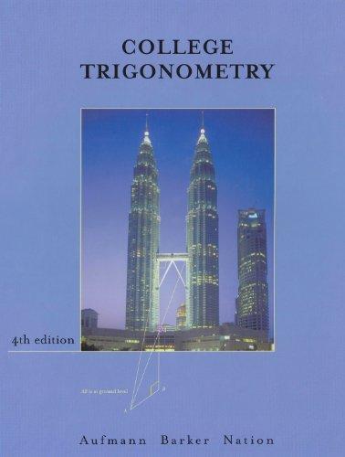 9780618130870: College Trigonometry