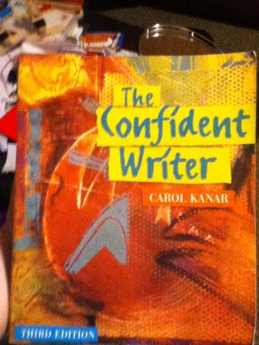 9780618131143: The Confident Writer Instructors Edition