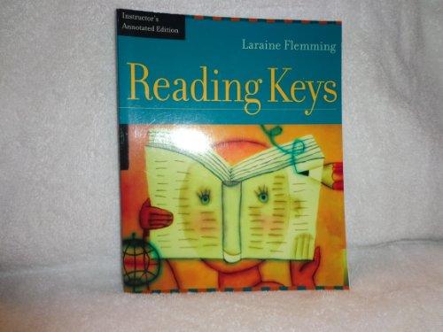 Reading Keys- Annotated Instructors Edition: Laraine E. Flemming